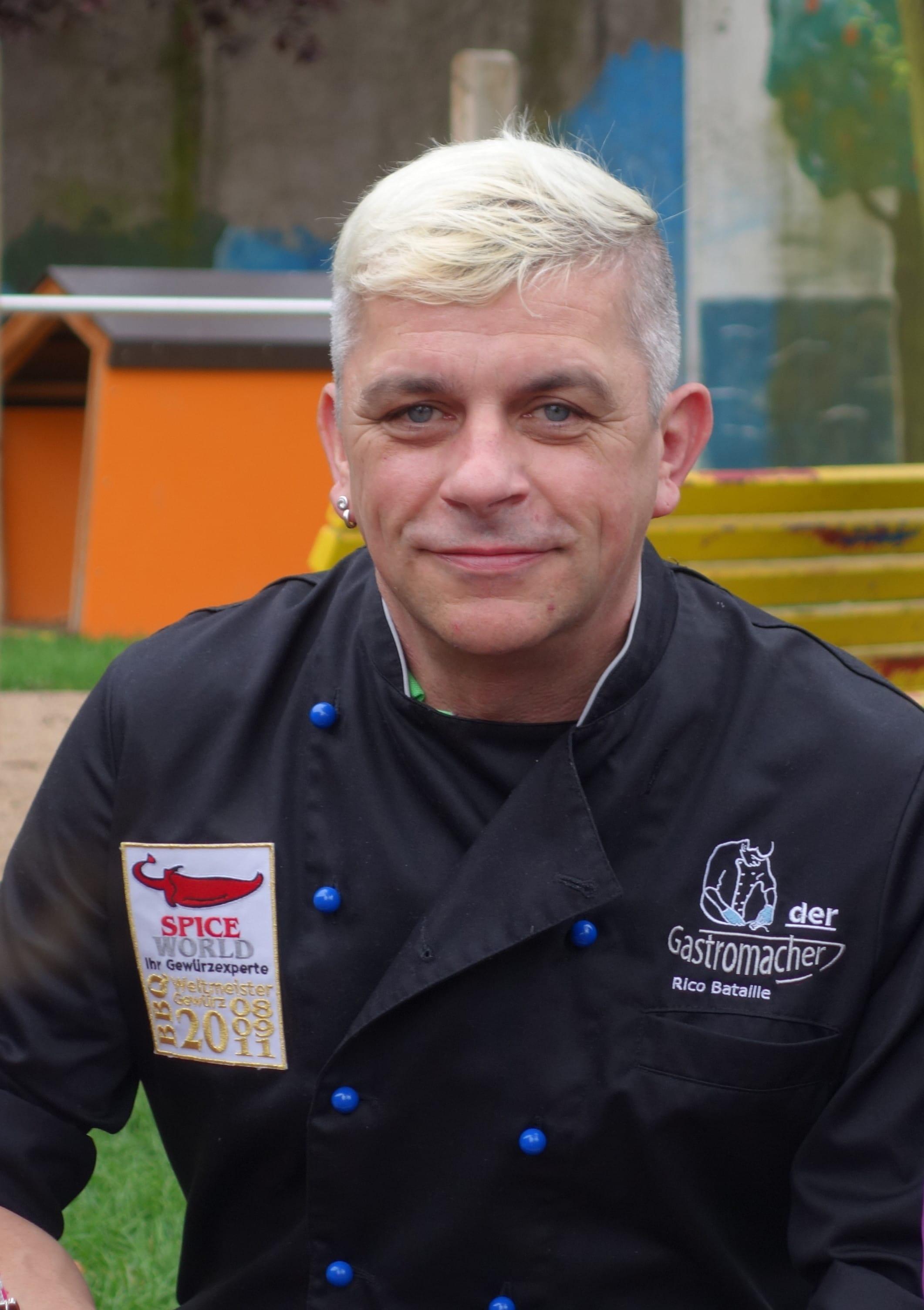Green Chef Rico Bataille vom Gastromacher Blog