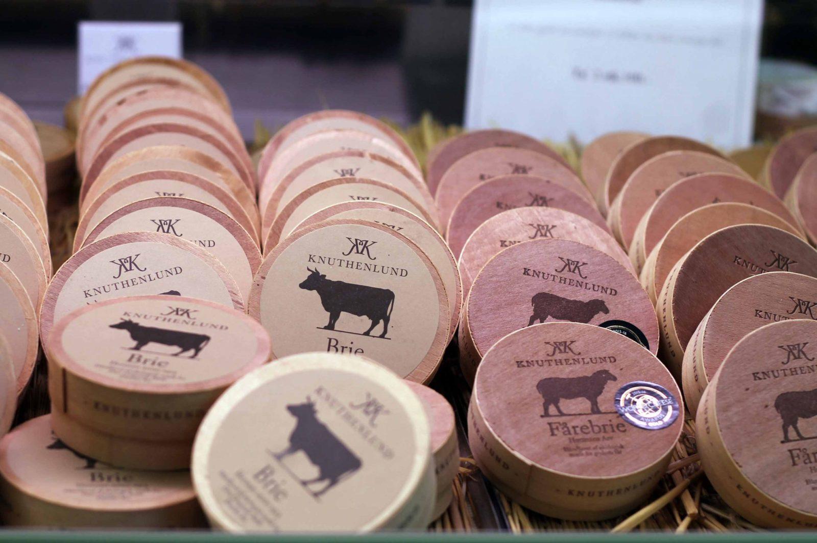 Ausgezeichnet Hausgemachter Käse vom Öko-Landwirtschaftsbetrieb Knuthenlund