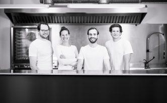 BASENBOX Team v.l.n.r.: Lukas Lovrek, Philippa Lovrek, Albrecht Eltz, Leopold Lovrek (Foto: Daniel Auer)