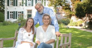 Familienbetrieb: Thea, Rolf und Leslie Clostermann