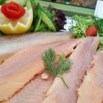 Räucherfischbuffet am Abend - Fischzucht Reese