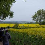 Ausflug zur nächsten Fischstation durch die Rapsfelder Schleswig Holsteins - Fischzucht Reese