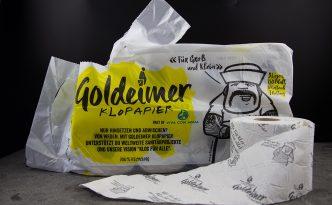 Goldeimer – Klopapier mit globalem Nutzen