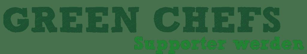 Green Chefs Supporter werden