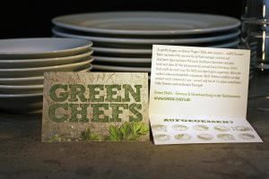 Green Chefs Bonuskarte Buffet beidseitig