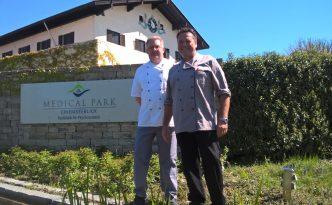 Herbert Riffel sorgt für kulinarisches Wohl im Klinikum