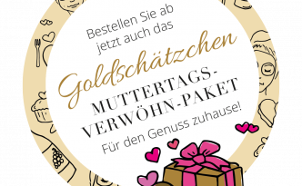 Muttertag - Verwöhnpaket vom Goldschätzchen