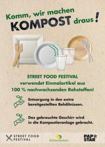 Nachhaltiges Festival - Komm, wir machen Kompost draus