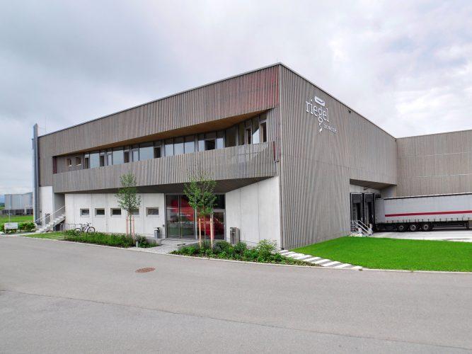 Riegel Biowein - neue Logistik