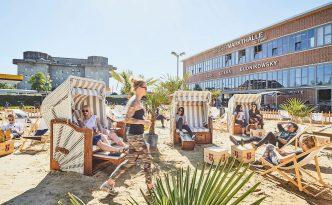 Rindermarkthalle setzt auf Rindermarkthalle Zero-Waste-Beachclub