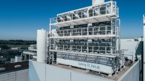 Schweizer Start-Up Climeworks saugt CO2 aus der Luft
