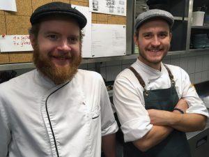 Sosein - Felix Schneider und Sous Chef Thomas Prosiegel