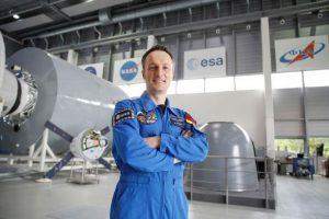 Weltraum-Menü für Matthias Maurer