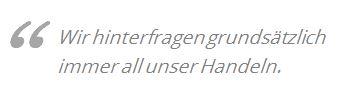 Andreas Widmann Zitat, GREEN CHEFS
