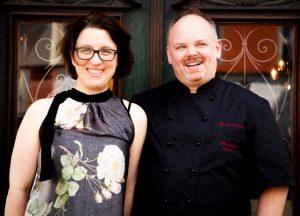 Christiana Lentes und Christian Zenner vom Hotel Klosterschenke