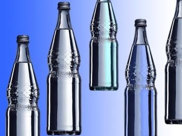 Ein Designklassiker aus Kassel: die Mineralwasserflasche von Günter Kupetz