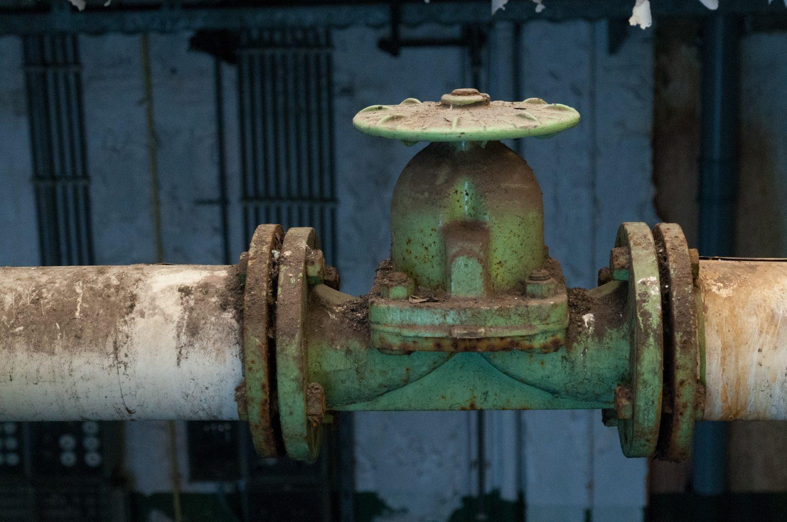 Gasversorgung Pipeline