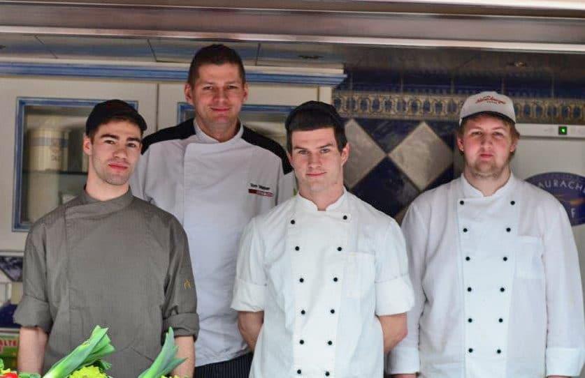 GREEN CHEFS Partner Tom Weber mit Team